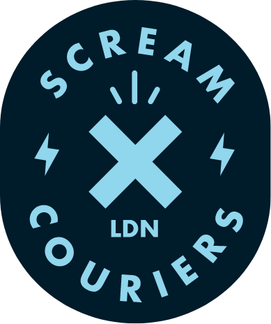 Scream Couriers Logo